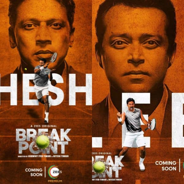BREAK POINT: Riveting and intriguing poster featuring Tennis champion Mahesh Bhupathi out now